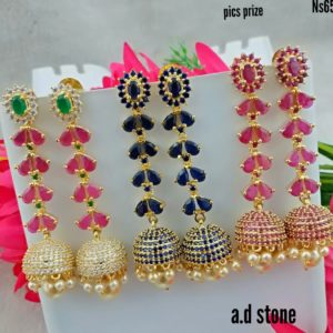1gm gold earring designs