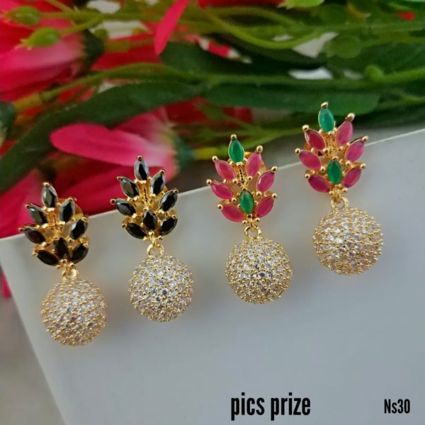 1gm gol earrings collections in delhi
