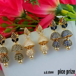 1gm gold earring collection in andhrapradesh