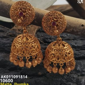 top 1gm gold jumka collections in andhrapradesh