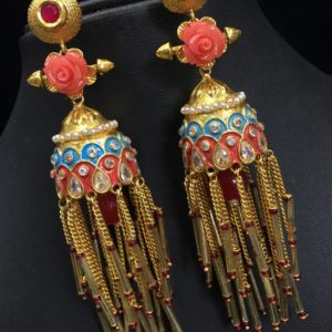 one gram beautiful earrings