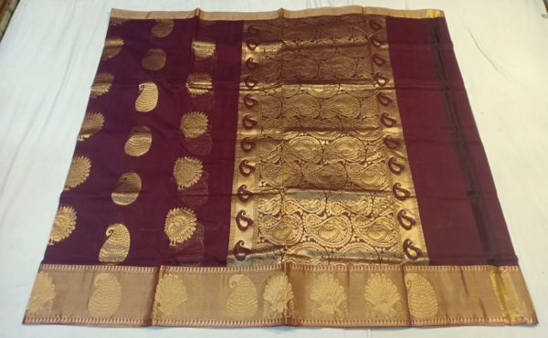 new arrival of chanderi saree collections