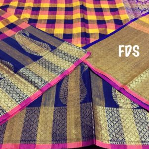 exclusive handloom kora sarees with zari weaves