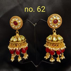one gram gold earrings