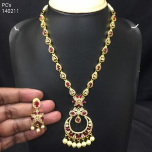 cz necklace designs
