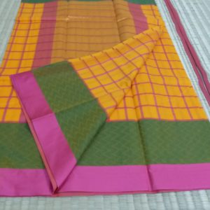 kora cotton korvai border collections/check collections