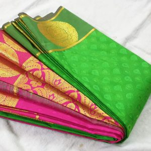 new arrival kanchipuram semi soft silk saree collections for best price